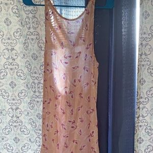 Acacia Size Small Island Orchid Dress